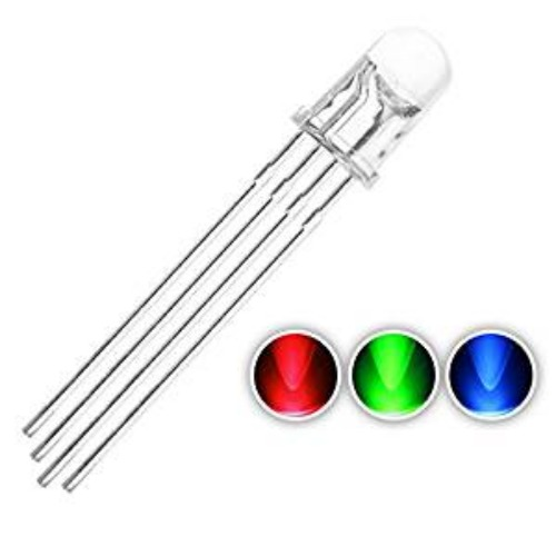 [0002] 5mm RGB LED (4 PIN Common Cathode)